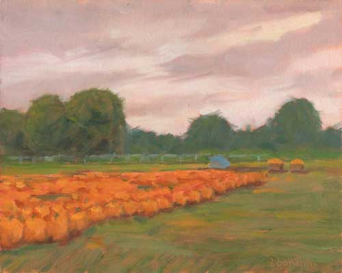 'Pumpkin Harvest 2' by Lori Bonanni
