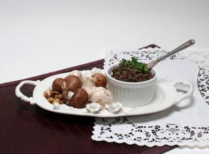 Serve up a posh pate made with mushrooms