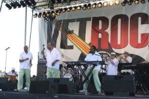 Vetrock: The Trammps perform at VetRock 2013 outdoor festival at Bader Field in Atlantic City Saturday, June 1, 2013.  - Edward Lea