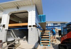 Baumgardner House Lifting