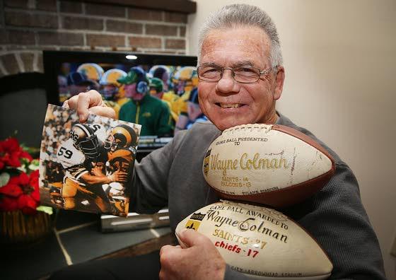 Ventnor's Colman feels bonds to Saints, Eagles