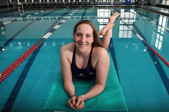 2012-13 Press Girls Swimmer of the Year: Colleen Callahan of Atlantic City High School