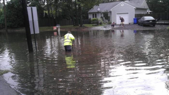 Stafford flooding