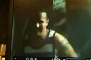 Absecon Burglary Suspects: Suspect in alleged burglary attempt at Knights Inn. - Photo submitted by Absecon Police