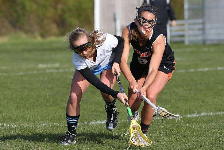 Middle Twp at Lower Cape May girls lacrosse