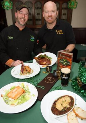 Irish Takeover Hits ShoreWith St. Patrick's Day comes green-inspired menus