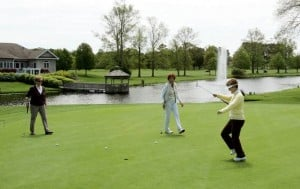 Friendly Local Green: Relaxing midsize course encourages fun, fast rounds