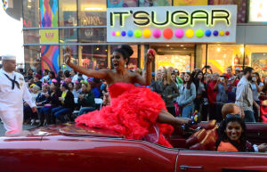 Miss America Parade: Miss New York Nina Davuluri - Vernon Ogrodnek