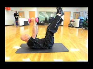 Your Workout: V-Up with Pec Deck Movement