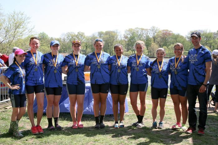 Oakcrest junior varsity 8