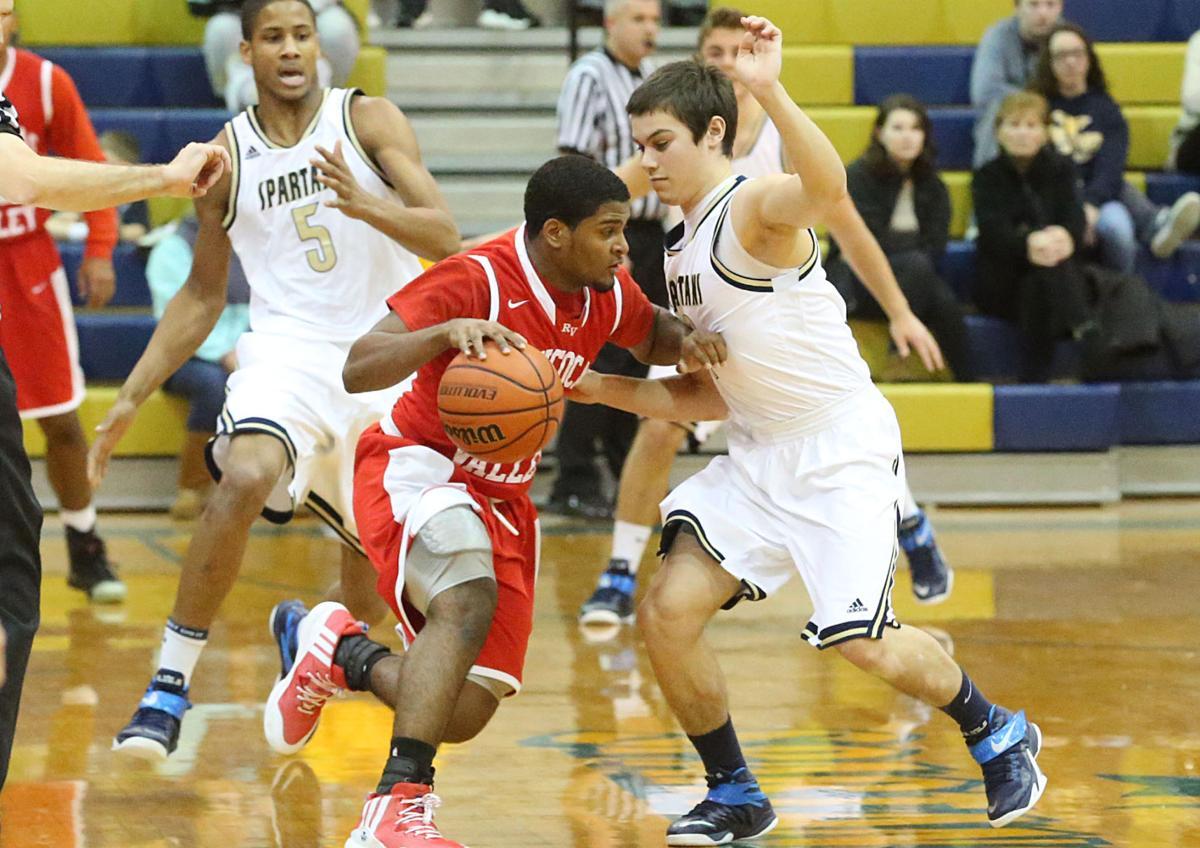 High School Basketball Games Two big high school bo...