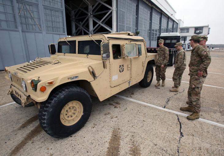 Coast Guard Humvee