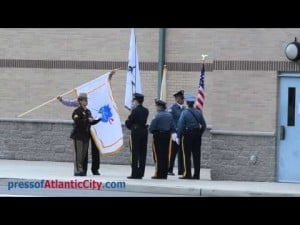 Funeral for Millville Police officer Christopher Reeves