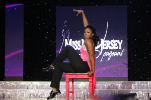 MISS NJ DAY ONE: Miss Tri-County Nicole Washington perform her talent dance in preliminary competition during Miss New Jersey pageant at the Ocean City Music Pier Thursday June 13, 2013.  - Photo by Edward Lea