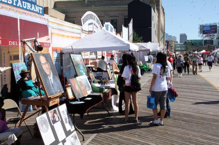 BOARDWALK ART SHOW