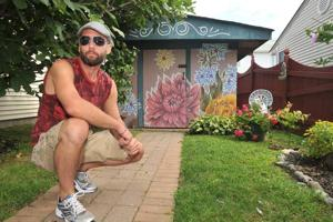 Brigantine native brightens mom's homecoming with mural