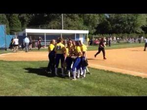Buena Regional softball before state semifinal