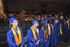 Buena grads praised for their grit, commitment