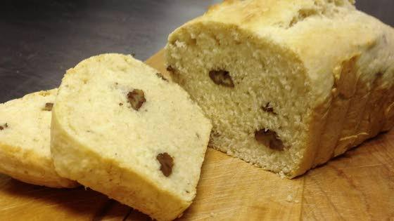 Using ice cream to make tasty bread