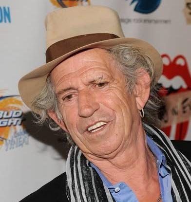 Keith Richards tells it like it is  and was in memoir titled 'Life'
