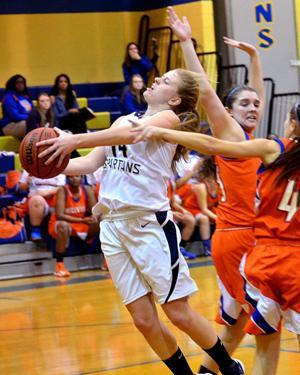 Photo gallery of Holy Spirit-Millville girls basketball game