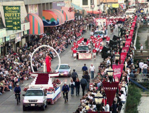 Miss America Through The Years: Miss America parade