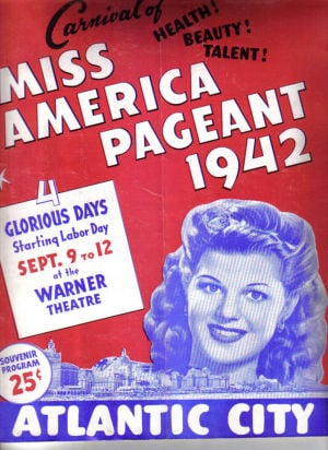 Miss America Through The Years: 1942 Miss America program