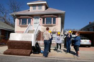 uninhabitable homes after sandy