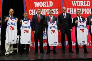 76ers owner Harris calls their season 'huge success'