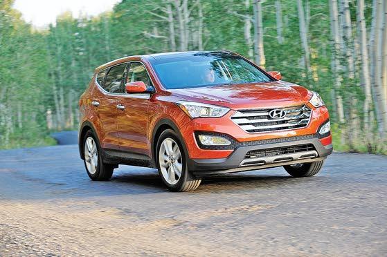 All-new 2013 Hyundai Santa Fe: Long and Short Models