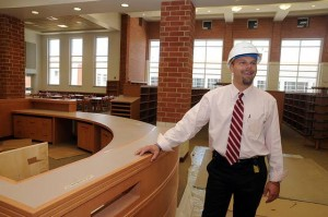 Work on Cedar Creek High School in Egg Harbor City is 92 percent complete