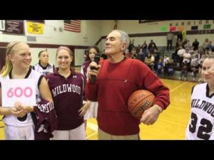 Dave Troiano's 600th win at Wildwood
