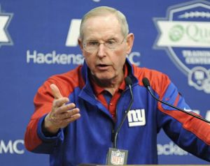 Giants sticking with Coughlin after 7-9 year