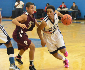 Battle By The Bay: Sunday February 3 2013 Pleasantville at Atlantic City Basketball. (The Press of Atlantic City / Ben Fogletto)