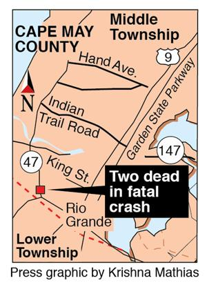Middle crash map