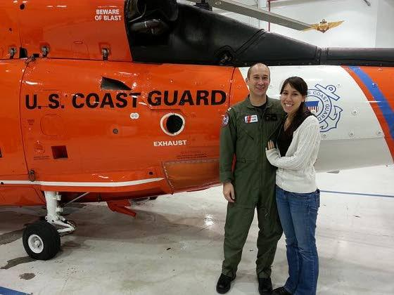 Coast Guard couple finish second on 'Wheel of Fortune'
