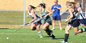Mainl Field Hoc: Monday September 23 2013 Mainland at Atlantic City girls Field Hockey. (The Press of Atlantic City / Ben Fogletto) - Ben Fogletto