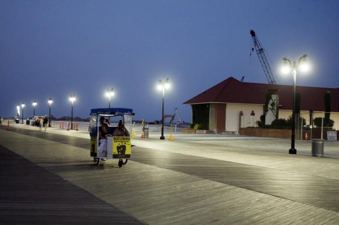 AC boardwalk lights