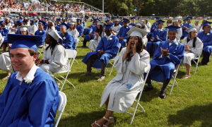 Oakcrest Graduation: Oakcrest High School graduation, Friday June 20, 2014, in Mays Landing. - Michael Ein