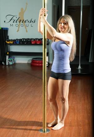Your Workout: Pole pull up
