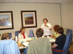 Literacy Volunteers Association tutors help adults communicate