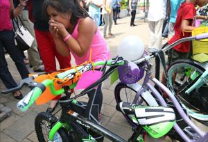 A.C. bicycle giveaway shows corporate philanthropy on the rise