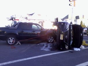 Margate crash