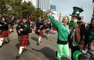 St. Pat's parades, ballet, rap and Shakespeare make for an interesting entertainment mix At The Shore Today