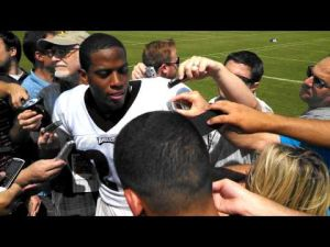 Interview with Eagles cornerback Cary Williams about Riley Cooper situation.