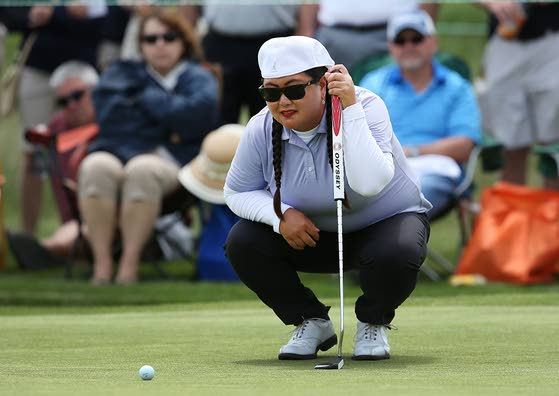Christina Kim in contention for first LPGA win since 2005