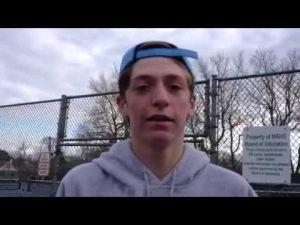 Middle Township tennis player Jeremy Novick