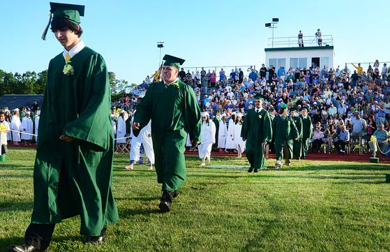 Class of 2013 a special one, Pinelands Regional grads told