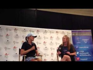 Amanda Blumenherst interview after Day 1 of ShopRite LPGA Classic