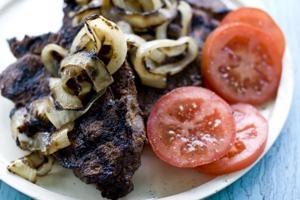 Chuck roll steak